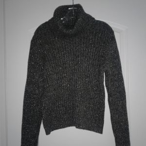 Silver Sparkly Lambswool Sweater